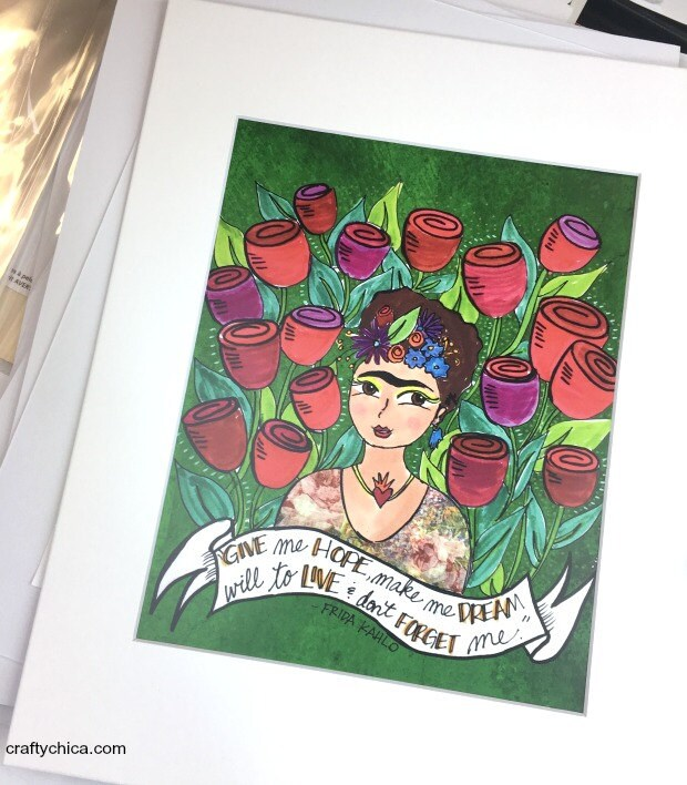 Frida Give Me Hope Print ...