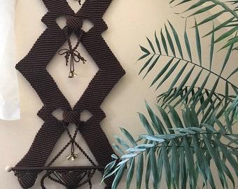 Macrame . wall panels Bellflowers
