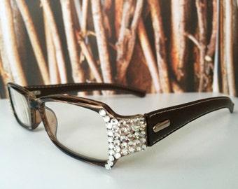 Swarovski Crystal Reading Glasses  +1.25 +1.50 +1.75 +2.00 +2.25 +2.50 +2.75