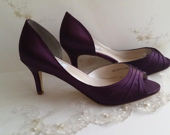 Lovely More Colors. Wedding Shoes Bridal Shoes Eggplant ...
