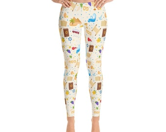 Passover Leggings- Pesach Pants: Seder Outfit, Pesach, Jewish holiday,