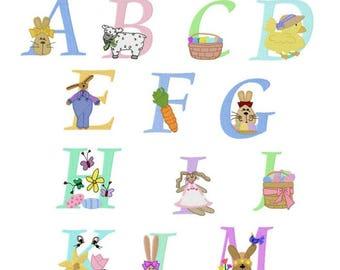 Easter Alphabet BD 383