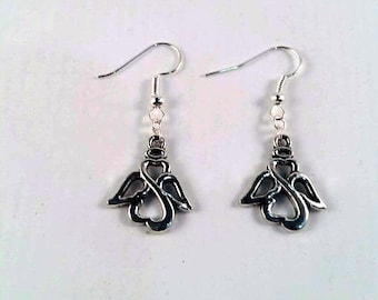 Angel Earrings - Fairy earrings - Angel Wings