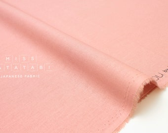 Japanese Fabric Kokka Tayutou solids - pink - fat quarter