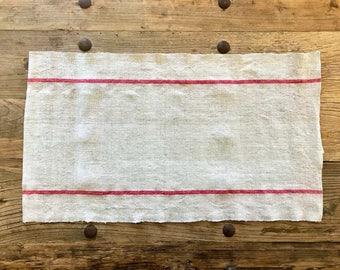 Antique Grain Sack Table Runner