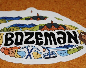 Bozeman Sticker