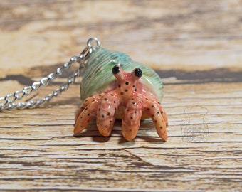 Hermit Crab Necklace - Hermit Crab
