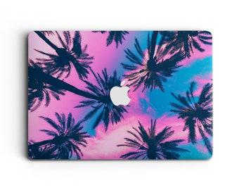 Palmtrees Colourful Macbook 13 Inch, Summer Macbook Air 13 Inch Case, Macbook Pro retina 15, Macbook Pro 13 inch Case, Macbook Pro 15 gift