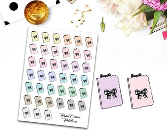TN Icons Planner Stickers/Multicolor Travelers Notebook Icon/Planning/Planner Sticker for Erin Condren Planner/Happy Planner/Functional Deco