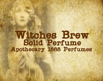 Witches Brew Solid Perfume