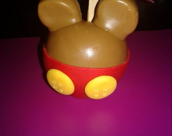 Mickey Mouse Clubhouse Candy Apples