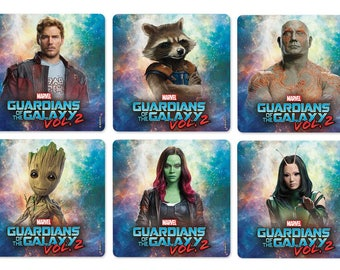 """25 Guardians of the Galaxy 2 Stickers, 2.5"""" x 2.5"""""""