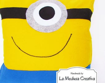 Pillow, Minion, large, despicable me, deapicable Me, Minions, cute, yellow, Big, Non-removable, kids,