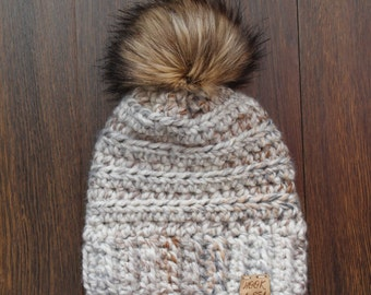 Toddler Crochet Slouchy Hat