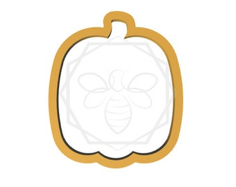 Pumpkin 2 Cookie cutter