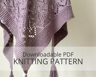 CHANCE COVE shawl [downloadable PDF knitting pattern]