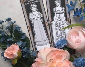 Bookmark to color of Jane Austen's Marianne from Sense & Sensibility