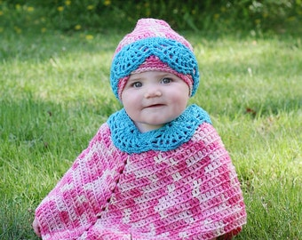 Baby Poncho and Hat pdf 743