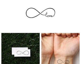 Attached - Temporary Tattoo (Set of 2)