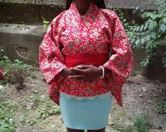 Japanese style Kimono Jacket