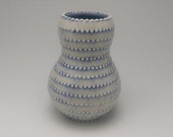 Striped Dot Vase
