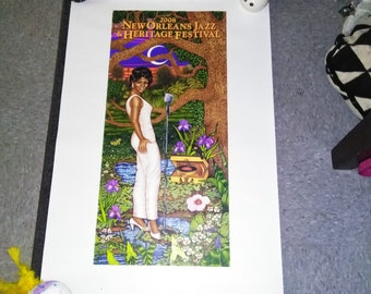2008 Time Is On Her Side: A Portrait of New Orleans' Soul Queen by Douglas Bourgeois  Signed w/C-marque