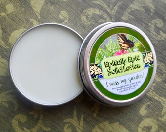 I Miss My Garden! Many Purpose Solid Lotion - Limited Edition Spring Scent
