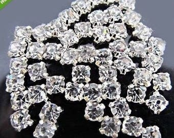 rhinestone sewing clearance lot of 100 5mm transparent