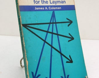 Relativity for the Layman science Pelican Series Vintage 1960 book paperback Einstein physics