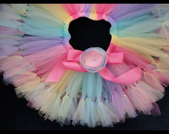 Unicorn Birthday Tutu Skirt   Candyland Tutu