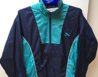 Vintage puma mixed M/L jacket