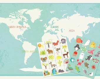 Our World Stickers Collection