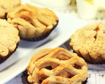 "Mini Fruit Pie, Edible Gift - 6 pcs. of 3"" mini pies"