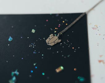 Bear , silver pendant