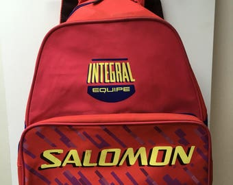 Mixed salomon backpack