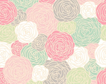 Removable Wallpaper - Blossom Print - New Colorway - Spring
