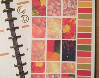 Happy Planner Decorative Boxes in Autumn Colours