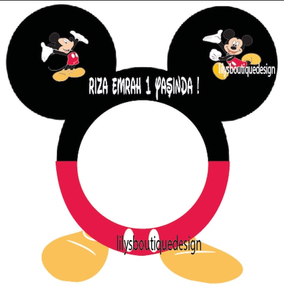 mickey mouse minnie mouse photo booth frame - Mickey Mouse Photo Frame
