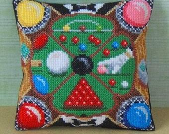 Snooker Mini Cushion Cross Stitch Kit