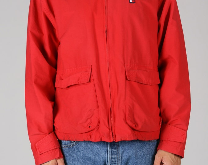 Red Tommy Windbreaker