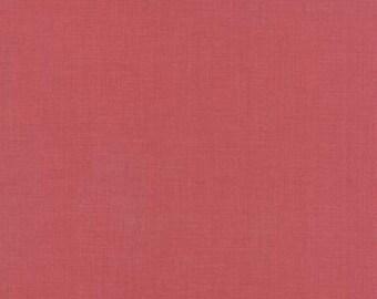 Joyeux Noel - Solid Faded Red - 1/2yd