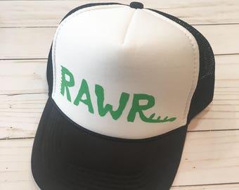 Rawr trucker hat