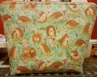 Spring Hedgehogs Wedge Bag