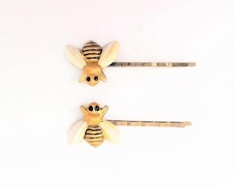 Bee Bobby Pins