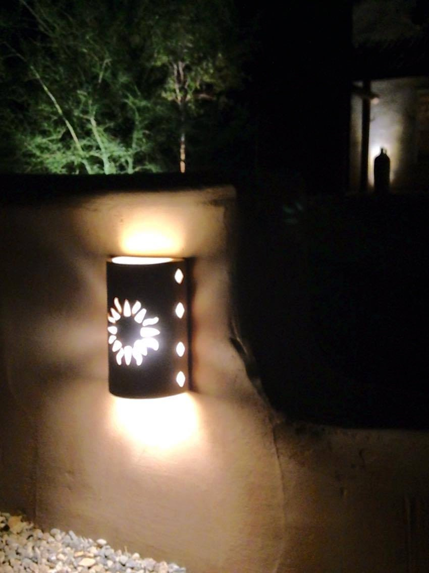 Wall sconce new sun southwestern lighting outdoor wall zoom arubaitofo Images