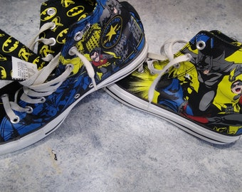 Batman Converse High tops