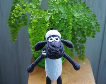Shaun The Sheep Crochet Toy Stuffed Toy