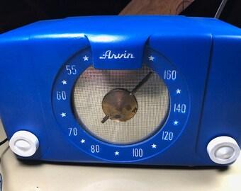1940s Arvin Tube Radio-Bluetooth Speaker