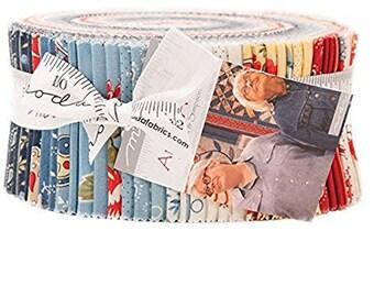 Ann's Arbor Jelly Roll by Minick & Simpson for Moda Fabrics