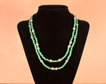 Green Spring Necklace